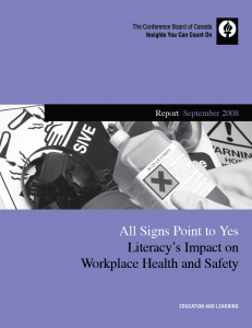 All Signs Point to Yes Literacy's Impact on Workplace Health & Safety