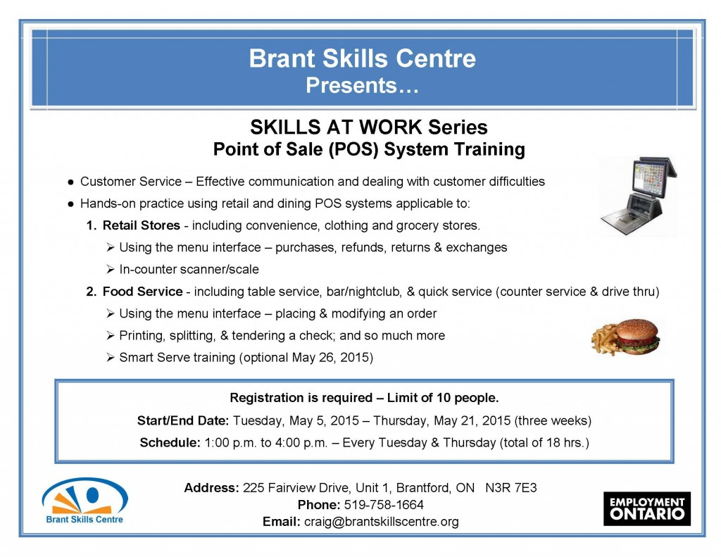 Skills At Work - POS Systems 2015