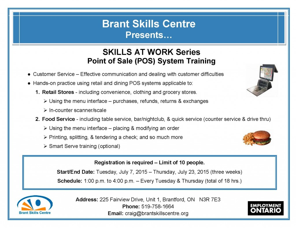 Skills At Work - POS Systems JULY2015